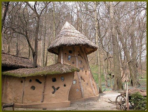 Ukrajinska inačica cob kuća dizajnera Yuri Ryntovta.
