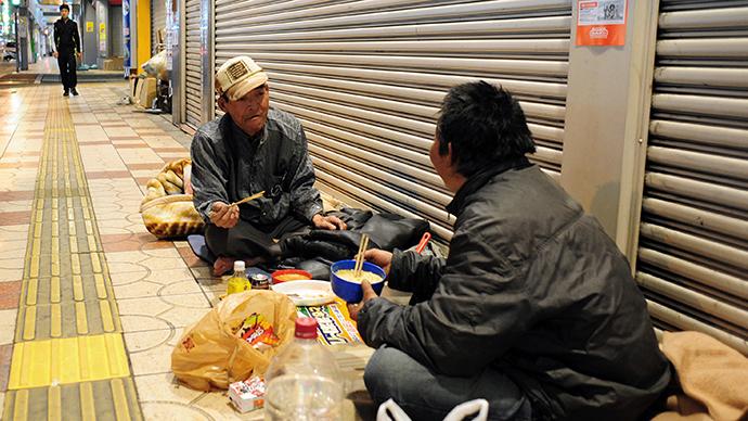 Japanske beskućnike regrutiraju za čišćenje Fukushime iako je radijacija toliko visoka da nitko drugi ne želi raditi u tako opasnom okružju.