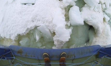 Led snimljen oko Akademika Shokalskiya.