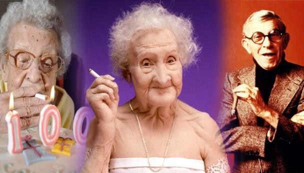 Zašto postoji tako puno superstogodišnjaka koji vole pušiti, ako je pušenje tako loše za naše zdravlje?