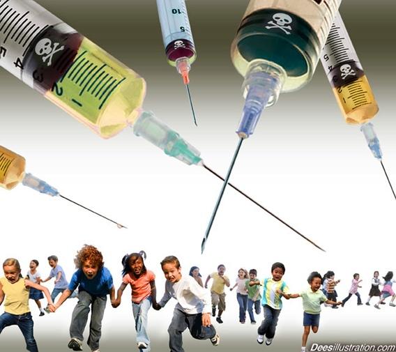 """Plaćeni istraživaći proizvođača cjepiva su ushićeni te cijepljenje protiv HPV-a nazivaju """"najvećim javnozdravstvenim eksperimentom"""". Slika je vlasništvo Dessillustration"""