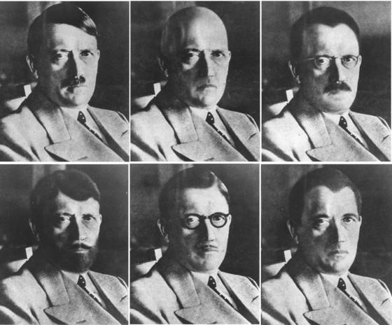 Tajne službe su smatrale da je Hitler mogao ovako izgledati, neposredno nakon bijega iz Njemačke.