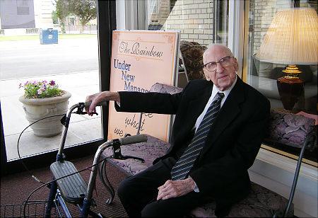 Walter Breuning snimljen 2009 godine.