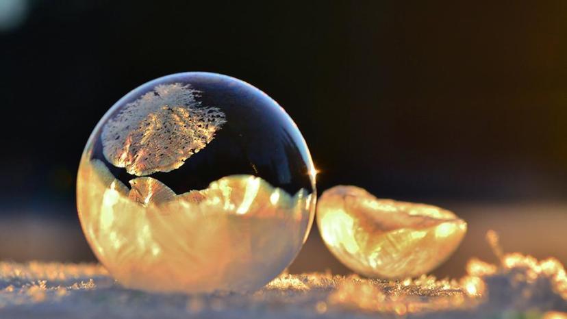 Baloni od sapunice se zalede u samo nekoliko sekundi na području SAD-a.