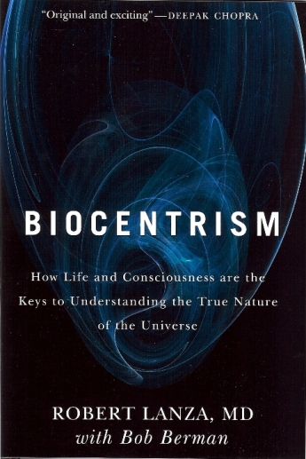 """Knjiga dr. Roberta Lanze """"Biocentrizam"""" koju vam preporučamo od srca."""