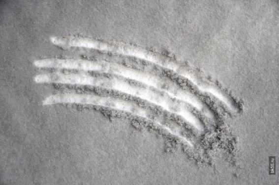 Nova vrsta snijega - crni snijeg.