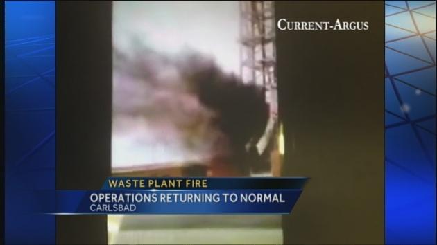 Da vatra u WIPP-u nije bila mala i benigna najbolje pokazuje amaterska snimka koju je prenijela jedna od nacionalnih TV mreža SAD-a.