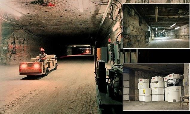 Postrojenje za skladištenje radioaktivnog otpada u Novom Meksiku se nalazi na pola kilometra dubine.