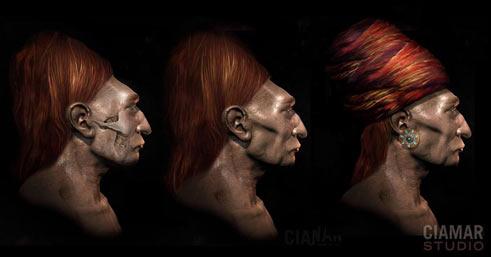 """""""Ljudi"""" iz Paracasa s produljenim lubanjama su trebali ovako izgledati."""