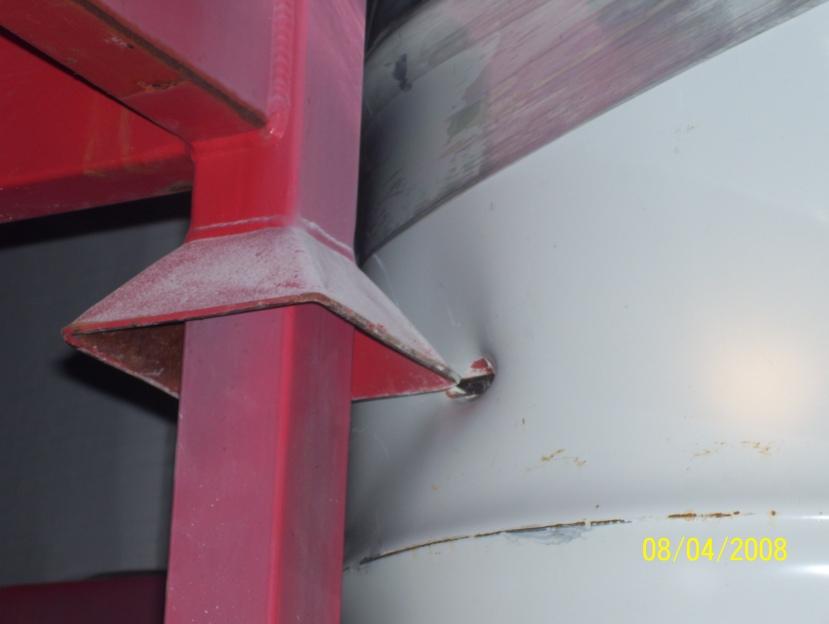 Primjer nepravilnog skladištenja radioaktivnog otpada u WIPP-u.