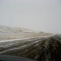 snježna mećava po autoputu, Florida