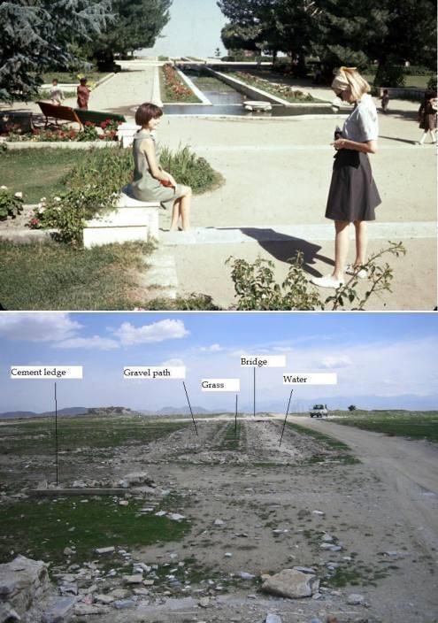 """Kako djeluje """"oslobađanje na američki način""""? Afganistan 1967. na gornjoj slici i 2007. na donjoj slici."""