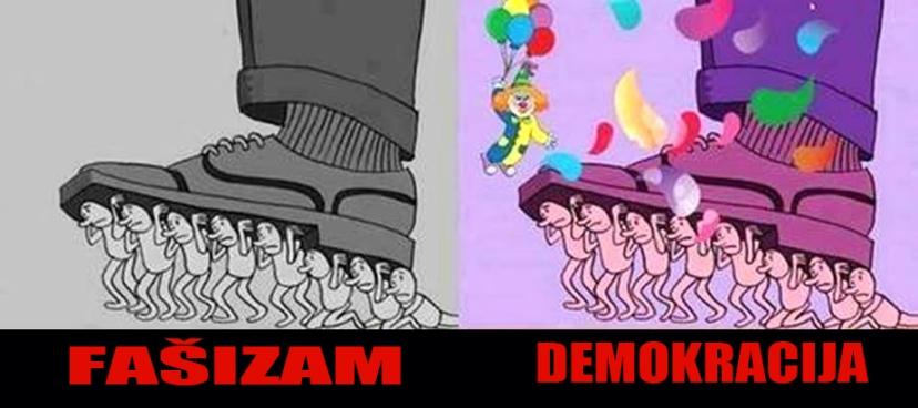 """Je li nam dosta """"festivala demokracije"""" koji nam se podmeću pod nos kako bi zaboravili stvarne životne probleme?"""
