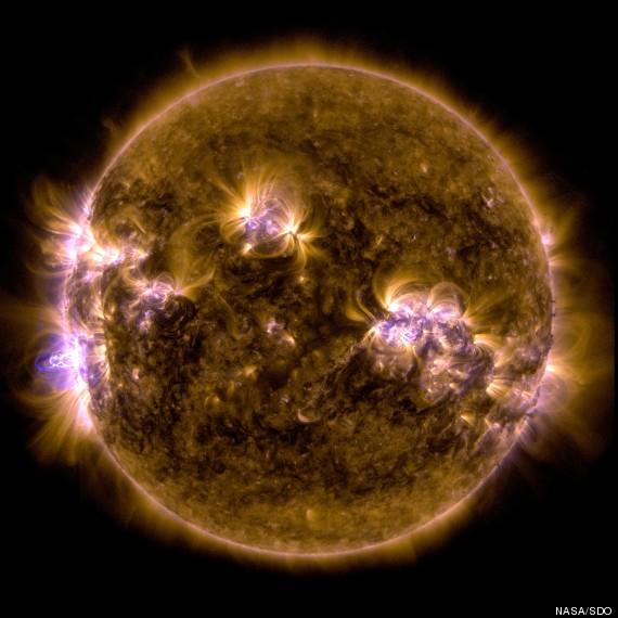 Sunce tijekom veljače 1014.