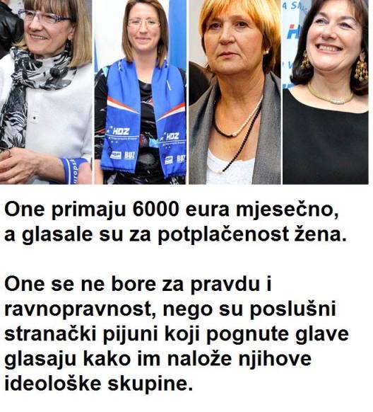 Slika koja kruži Facebookom najbolje dočarava stanje uma naših EU zatupnica. Je li ovo zadnji pokazatelj patokracije?