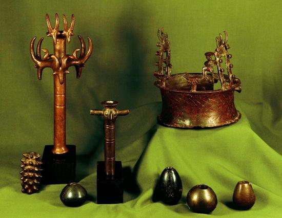 Najpoznatiji predmeti iz Nahal Mishmar Hoarda.