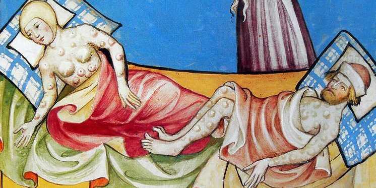 """Kuga iz XIV vijeka je bila poznata po svojim """"čirevima"""" koji nalikuju na simptome moderne ebole, a ne bubonske kuge."""