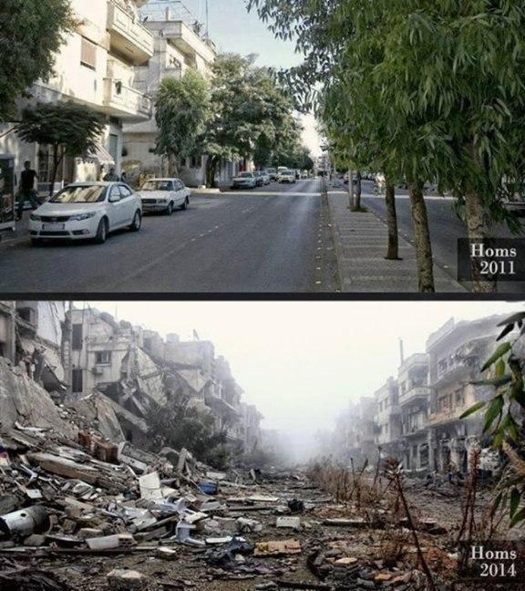 Sirija - Homs nekad i sad. Je li to oslobođenje?