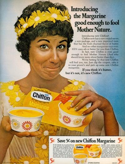 Tijekom XX vijeka marketinški spin doktori su uradili sve što je u njihovoj moći kako bi nas uvjerili da je margarin zdrava i prirodna alternativa maslacu.