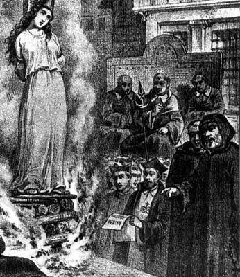 """Mizoginija je očigledna u gotovo svim organiziranim religijama, katolička crkva je išla toliko daleko u ženomrštvu da je milenijima proganjala, mučila, ubijala i tlačila žene koje su imale """"zrnce"""" soli u glavi zbog kojeg su bili prijetnja za crkveni ustroj stvoren na bazi astemičnog psihopata."""