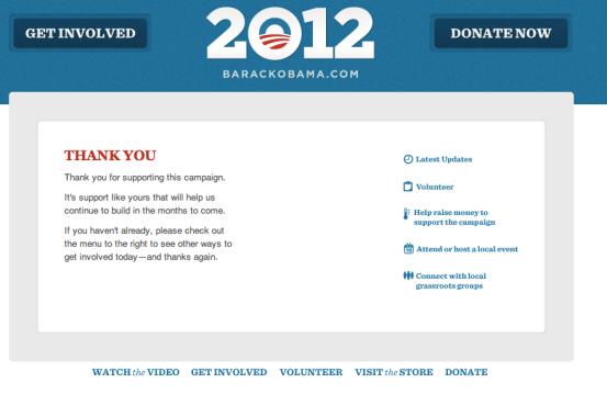 Do sada je postojao limit koliko osoba može donirati u nečiju izbornu kampanju. Na slici vidite dio Obaminog osobnog portala s gumbom za donacije iz predsjedničke utrke za 2012. Tada je jedna osoba mogla donirati malo više od 4.000 dolara.