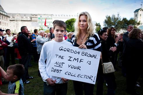 Islanđani su se suprostavili bezobraznom pritisku Gordona Browna.