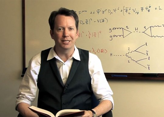 Profesor Sean Carroll.