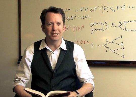 Profesor Sean Carroll.