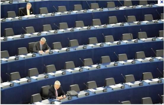 PLaće EU parlamentarcima su toliko velike, da ih ne može privući niti gotovo 400 eura kako bi učestvovali u zasjedanju parlamenta.