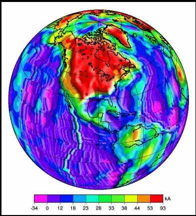 Snimke Kosmosa, obratite pažnju na EM anomalije nad Kanadom i SAD-om, snimljene u zadnjih 60 dana.