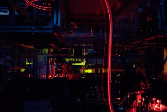 """Kombinacija nekoliko metoda je momogučila """"zamrzavanje"""" svjetla s pohranjenim informacijama. Fotografija vlasništvo Katrin Binner."""