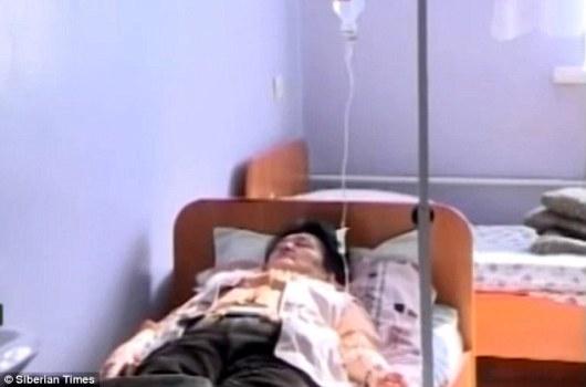 Marina Felk u bolnici za vrijeme koamtoznog sna.
