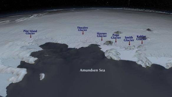 Ispod ovih ledenih masa na Antartiku nalaze se najaktivniji vulkani na svijetu, zbog njihove aktivnosti  se led i topi.