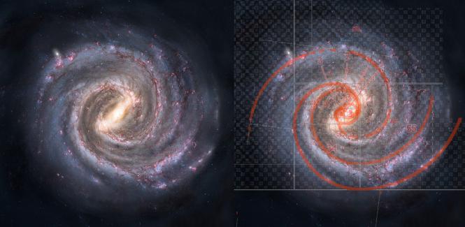 Matematika je univerzalni jezik, njega srećemo na svakom koraku. NA slici vidite primjer Fibonaccijevog niza u snimci jedne galaktike.