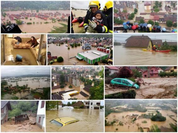 Ovogodišnje poplave na područjima bivše države.