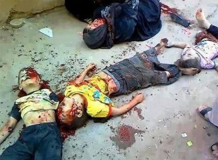 Mrtva djeca Gaze.