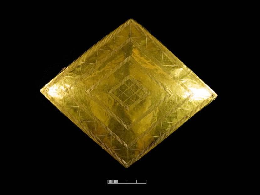 Najveći komad zlata iz Bush Barrowa.