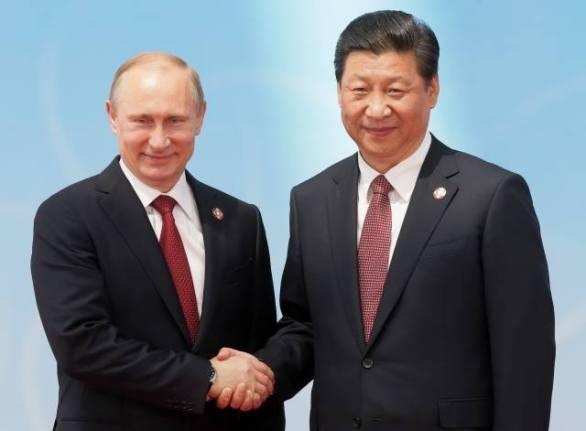 Putin i njegov kineski kolega nakon sklapanja ugovora između Moskve i Pekinga.