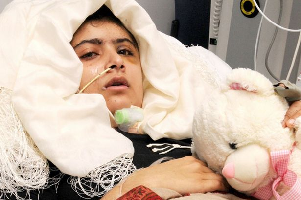 Malala u bolnici nakon atentata.