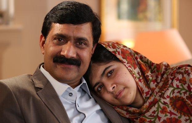 Malalina najveća podrška je njen otac.