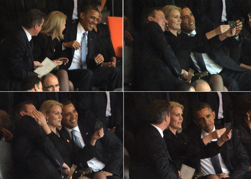 Bi li se političari trebali ovako ponašati na nečijem pogrebu, a naročito na pogrebu Nelsona Madele.