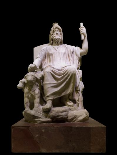 Bog Serapis s janjetom.