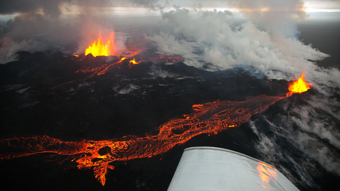 Za sada je najaktivniji vulkan Bardabunga.