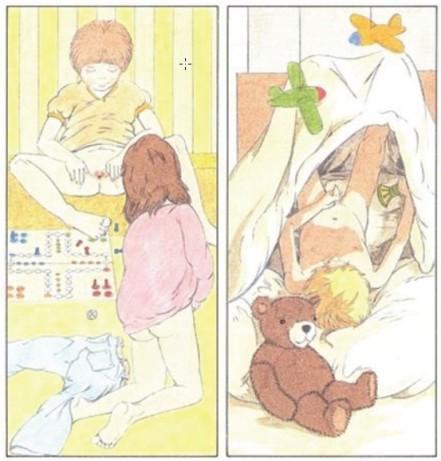 Primjer iz njemačke knjige za sekualnu edukaciju djece, nama ovo izgleda na čistu pornografiju, a vama?
