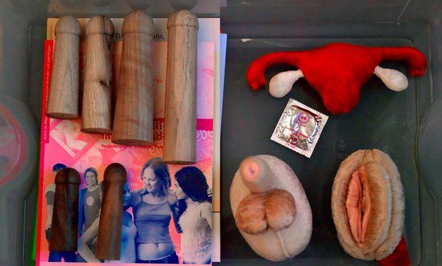 Švicarski sex box namijenjen djeci u vrtiću.