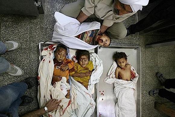 Kako ostati ravnodušan na mrcvarenje i ubijanje djece Palestine pod krinkom rata protiv terorista, s blagoslovom SAD-a?