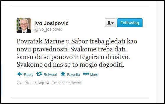 Nova pravednost je zapravo dobro smišljena prevara, te nema nikakve veze s Ivom Josipovićem.