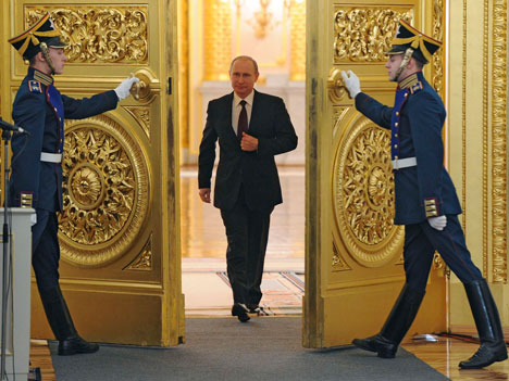 Veliki dio Putinovih citata se odnosi na njegov nedavni govor o stanju nacije.