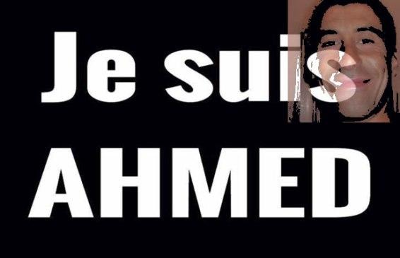 Ja sam Ahmed, trebalo bi pisati po medijima, jer je val mržnje prema msulimanima u potpunosti izmanipliran od strane najvećih zločinaca iz sjene.