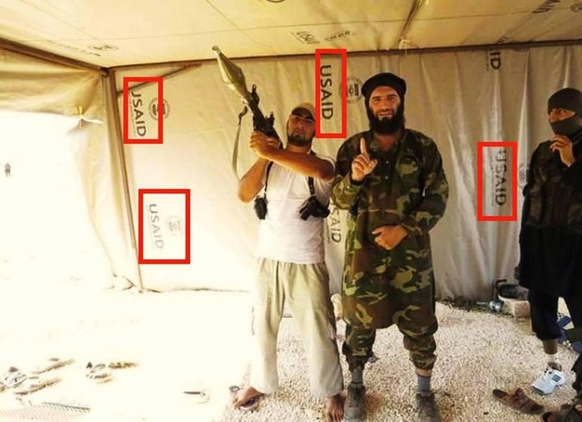 Terorist u šatoru koji je donirala vlada SAD-a?